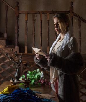 Ян Вермеер. Женщина, читающая письмо