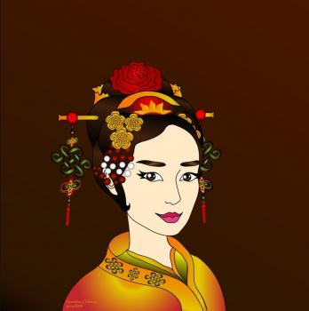 Украшения Китайской Принцессы