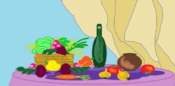 Натюрморт. Овощи