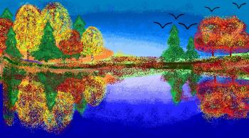 Волшебные краски осени