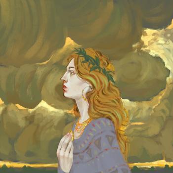 «Портрет. Девушка и небо»