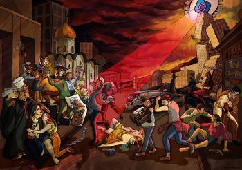 Последний день Помпеи: Наши дни