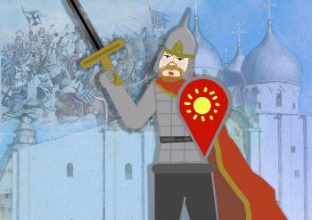 Защитник колыбели Земли Русской