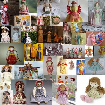 ... и обрели куклы души
