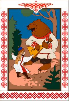 Серия открыток