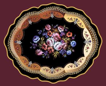 Нижнетагильская лаковая роспись