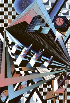 Ассоциативная композиция на тему импрессионизма